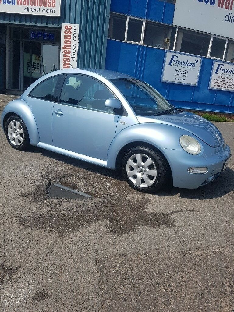 For My Wifes Mint Vw Beetle