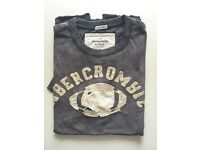 Abercrombie&Fitch Muscle Fit Size Small Grey tee - New condition -50%