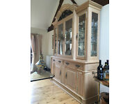 Magnificent display cabinet for your dining room - must go by 30 August!