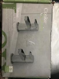Brand new chrome bath taps