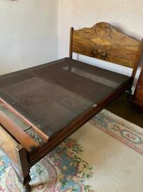 Stunning Vintage double bed