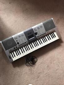 Yamaha PSR-E403 portable keyboard with power cord
