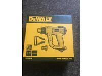 BRAND NEW SEALED DEWALT HEAT GUN 2000W LCD TEMP CONTROL SEALED IN BOX