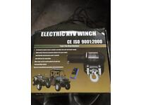 Electric winch for quad