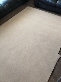 Brand new carpet 6ft x 4ft coffee colour collection from Dereham