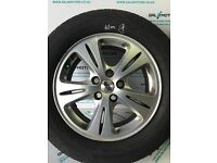 FORD GALAXY MK3 S-MAX 2006-2010 ALLOY WHEEL R16 WITH 6.1 MM TYRE EJ56-1
