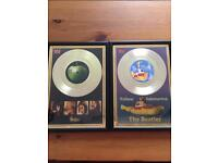 Beatles gold discs