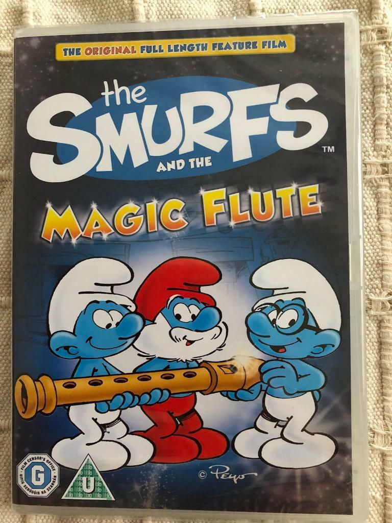 The Smurfs and the magic flute dvd. New