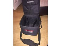 Makita Black 10 Inch Cube Tool Bag with Carry Strap