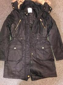 Girls age 11 -12 black Tammy girl coat