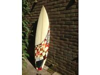 "Adams 6' 4"" Surfboard (with board bag and fins, NO leash)"