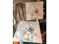2x Laura Ashley Blossom prints.