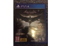 Batman Arkam Knight PS4 Game **LIKE NEW**
