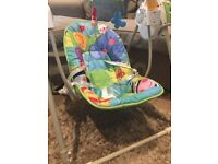 Baby mothercare swing seat £5