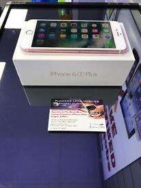 Iphone 6s plus 16gb rose gold on 02 / giffgaff / tesco