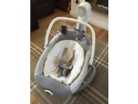 Joie serina 2 in 1 baby swing/rocker
