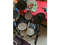 Roland TD-1DMK V-Drums Electronic Drum Kit and Roland PM - 100 Personal Drum Monitor