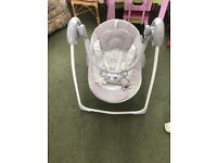 Baby swing seat / Redkite musical chair