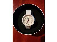 Newgate London Minky White Electric Watch - New, BS3