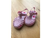 Toddler pink Next jelly shoes