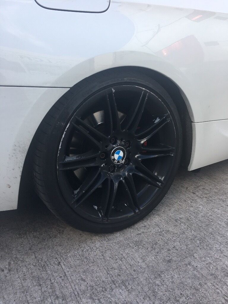BMW MV4 225 2 x front and 1 x rear, no cracks. Fits e90,91,92,93