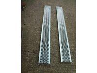 New 2 Metre Long Galvanised Car Ramps