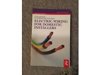 17th edition wiring regulation. Electric wiring for domestic installers book