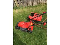 Flymo Lawn mover with Stimmer