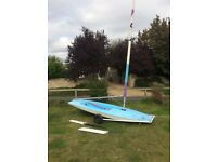 Topper sailing dinghy 40917