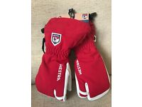 Hestra Army Leather Ski Mitts - BRAND NEW !!