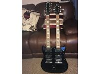 Doubleneck SG guitar in black excellent condition