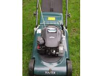 petrol lawn mower for sale good condition a bargain for the price