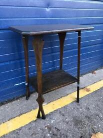 ARTS AND CRAFTS OAK OCCASIONAL TABLE - Antique Vintage Retro