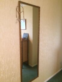 Long wall mirror