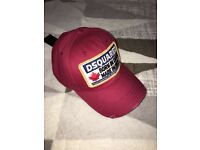 Brand new with tags D Squared Cap Hat Canada Black Red Blue Green CAN POST