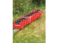 HILTI BOX BOXES FOR HAMMER DRILL GRINDER WRENCH