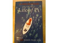 Life of Pi by Yann Martel. Best selling book and film. 50p
