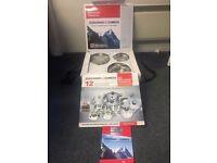 Brand New, Zurchner and Zumefa Luxury 12 Piece Cookware Set, Professional Grade Equipment.