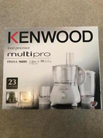 Kenwood MultiPro FP691 Food Processor - White