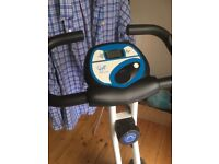 Davina McCall foldable exercise bike