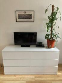 IKEA Malm Chest of Six Drawers