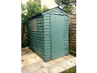 Small Shed 4ft x 6ft, green