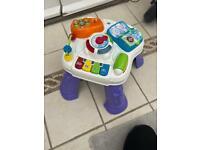 V tech play & learn activity table