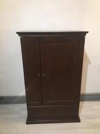 Dark mahogany storage unit
