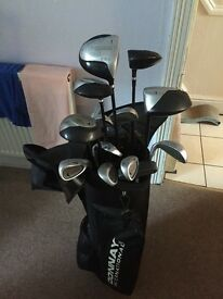 Set of Donay golf clubs