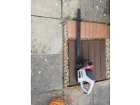 Spear & Jackson 600w 66cm Hedge Trimmer with 24mm Tooth Gap and Laser Cut Blades