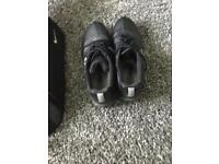 Nike golf shoes and Nike shoe bag
