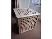 Solid wood side table, excellent condition
