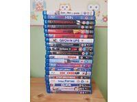 20 x Blu Rays Bundle Comedy Action Films Troy Yes Man Bronson Zohan Click Hancock Grown Ups Jackass