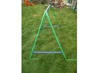 Garden swing frame